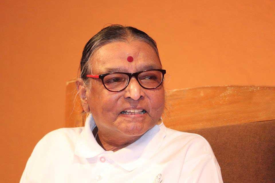Geetaji at Yoganusanam 2018