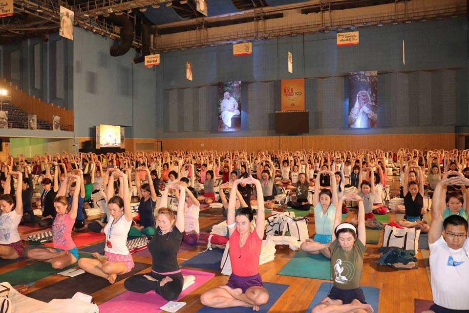 Yoganusasanam 2018 BKS Iyengar's Cententary