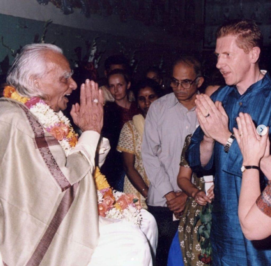 Richard Agar Ward and Guruji